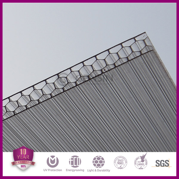 Polycarbonate honeycomb panel, hard plasltic sheet, china honeycomb panel