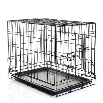 Wire Metal Folding Dog Cage