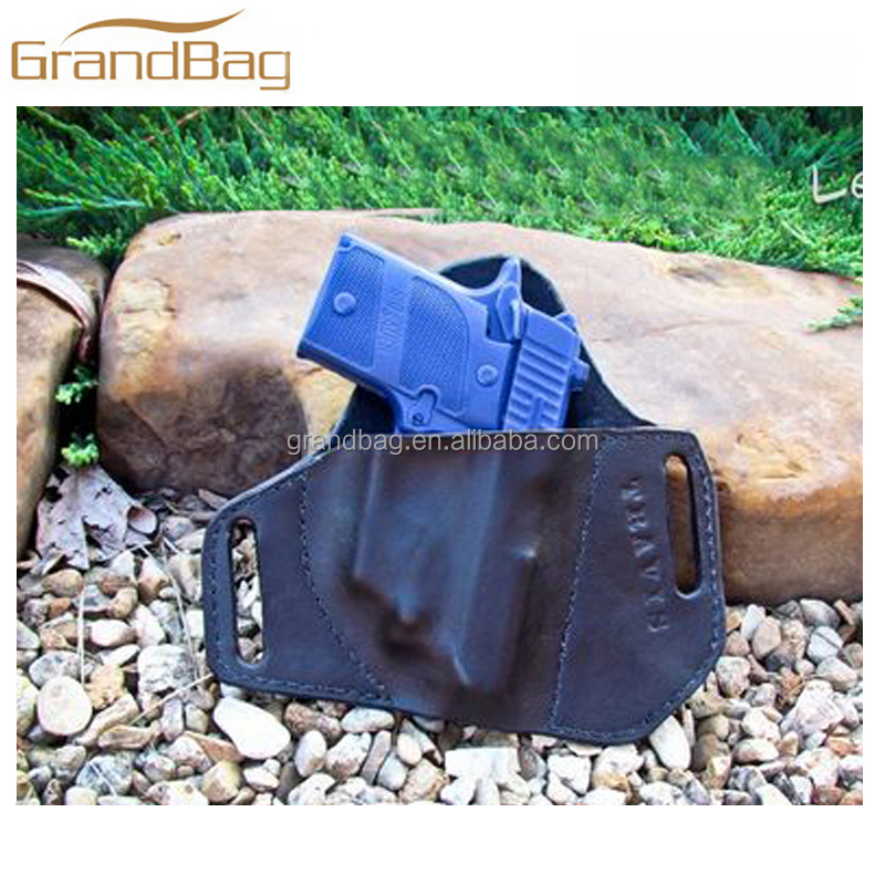 Customized top quality genuine leather holster classical design holster gun holster pistol cover