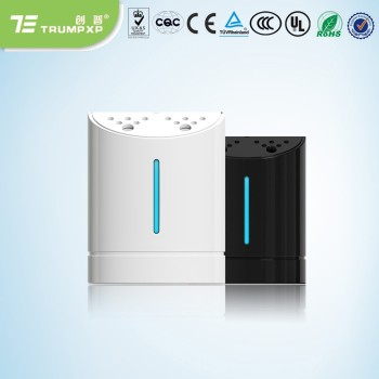 Personal secret remove smoke ionized air purifier