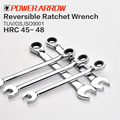 Reversible Ratchet Combination Wrench/72 Tooth/6-24mm