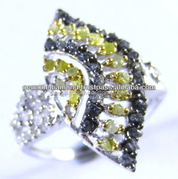 High Quality Uncut Rough Diamonds Engagement Rings