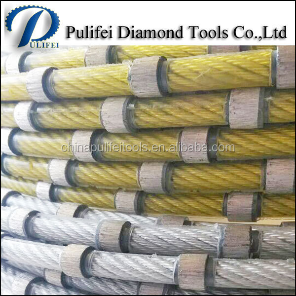 Diamond Wire Saw Cutting Tool of Granite Marble Concrete Cutting Diamond Wire Saw Blade for Mining Wire Saw Equpiment
