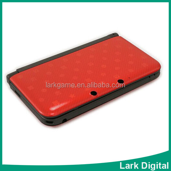 For 3DS XL 3DS LL Full Shell Case red Version