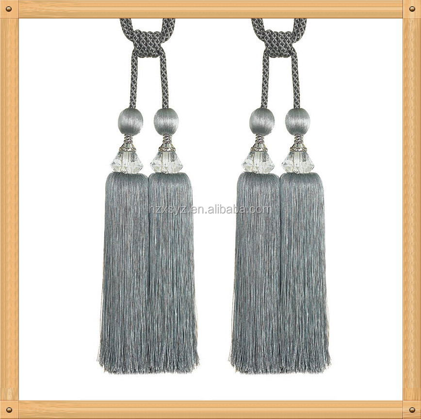 Elegant Design Factory Price Curtain Cord Tassel