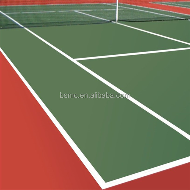 High quality Acrylic outdoor tennis sports court flooring surface
