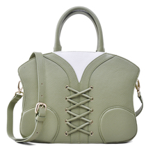 GUODI New product women bag leather green handbag dooney and bourke OEM in China