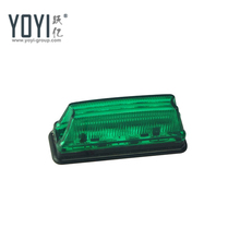 YS321 Truck Led Side Marker Lights Green 12v 24v