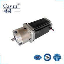 Casun NEMA 23 2 phase 1.8 degree high torque customizable hybrid stepping and stepper motor with gearbox