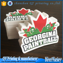 Custom printed vinyl car sticker, vinyl bumper sticker for car