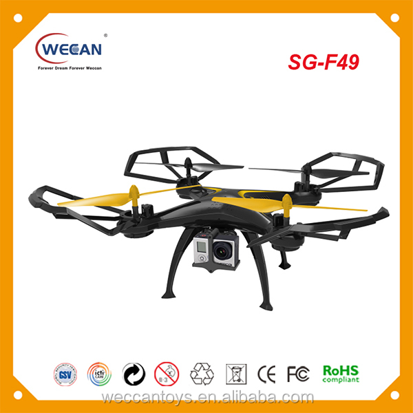 Professional Selfie Drone Compatible With Go Pro and Sports Camera 2.4G 4CH buy from china quadcopter