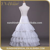 New Come New style wholesale layered tulle petticoat