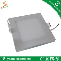 18w led flat panel wall light and square led panel video light mini flat led light