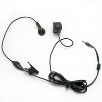 [E1101-BD]Two Way Radio eapiece spy earphone with Microphone for Brondi