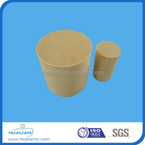 Supply car exhaust honeycomb ceramic catalyst carrier