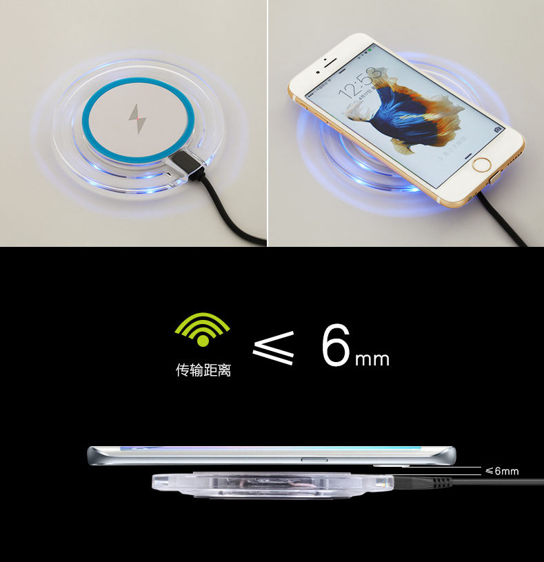 Qi Wireless Charger For Iphone X 10