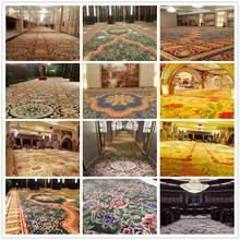 Handtufted luxury design floral pattern wall to wall carpet
