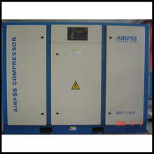 Overseas service center available Tower high pressure portable screw air compressor for travel
