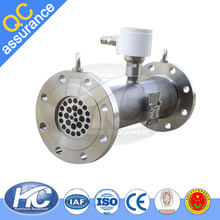 "1/2"" to 12"" high accuracy turbine flow meters / natural gas axial turbine flow meter"
