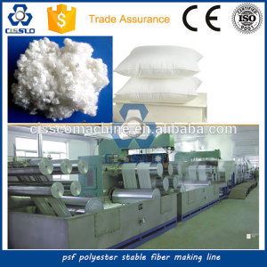 Polyester Staple Fiber Producing Machine with Bottle Flakes