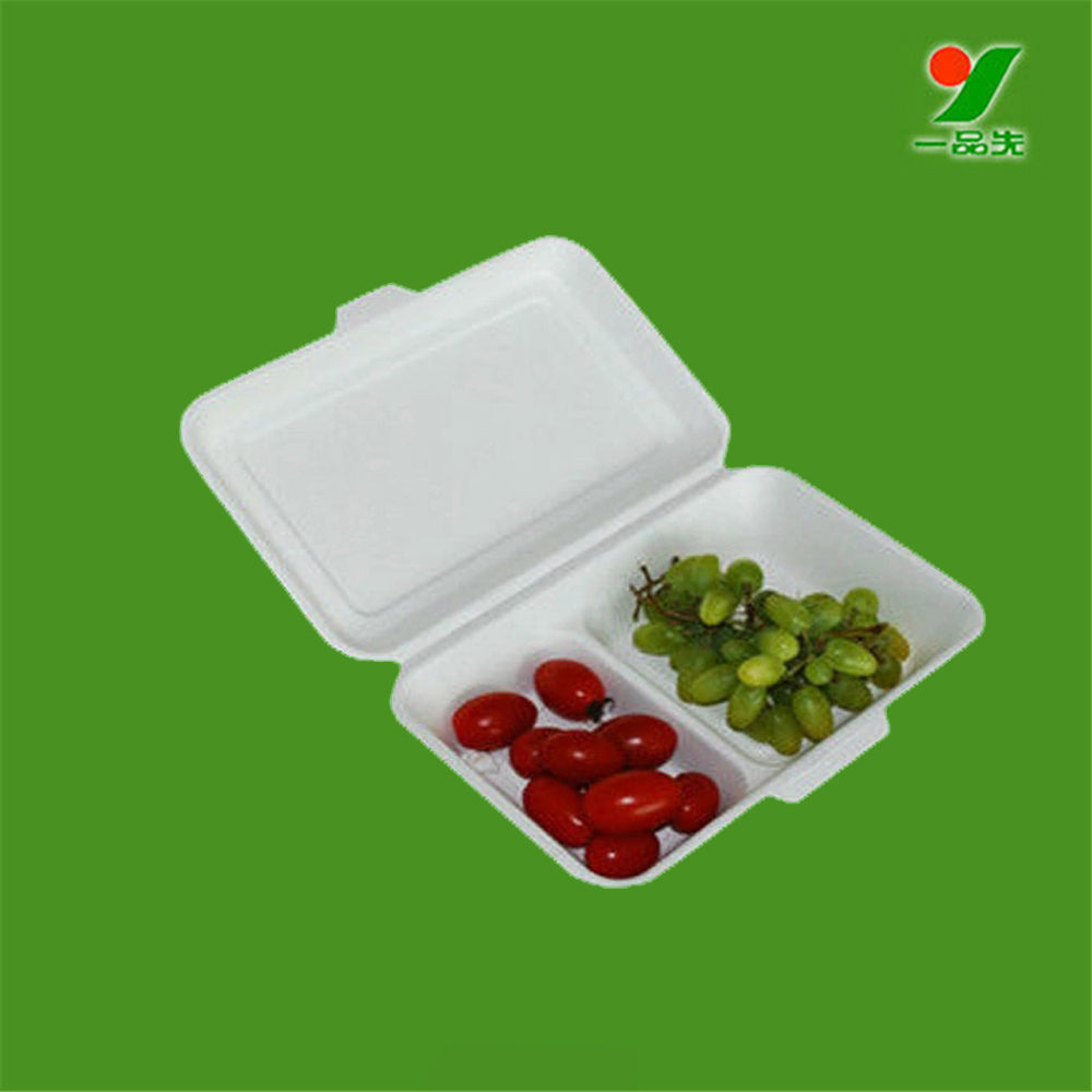 Sanitary food paper box custom SGS packaging solutions tray with cover