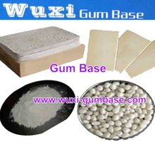 Sheet/tablet/powder gum base to make bazooka bubble gum