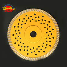 "turbo small diamond saw blade socket flange 7"" 180mm diamond cutting disc angle grinder grinding stone granite marble concrete"