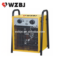 wenzhou 3kw portable industrial electric fan square heater