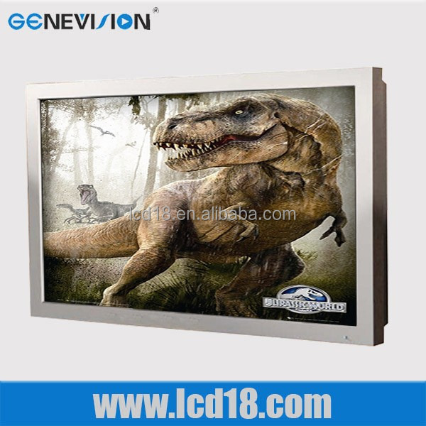 65 inch cheap 4K monitors high brightness waterproof outdoor advertising