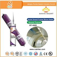 Neutral cure One component anti-fungus silicon sealant for structural glazing