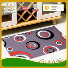 Pvc backing living room door decoration carpet