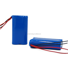 2S 7.4V 3Ah Li-ion battery pack with PCB and two black wire & two red wire Sanyo UR18650ZTA 3000mAh Samsung 18650-30B 3000mAh