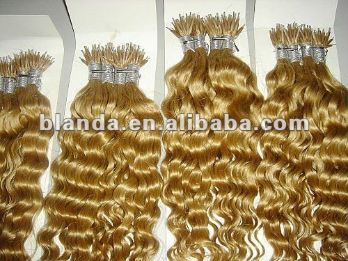 Indian remy hair of nano ring loop extension