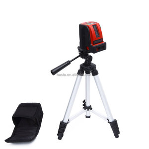 Self Leveling Cross Line Laser Level for Rotating Bright Beam Indoor with Tripod