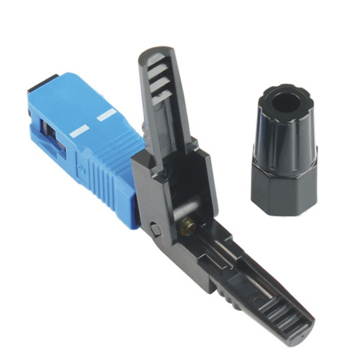 Wholesale New Optical Fiber Fast connector Assembly Cold Splice joints Telecommunication Standard SC/UPC Quick connector