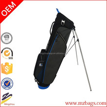 Travel cart golf bag with wheels,design your own waterproof golf bag wholesale