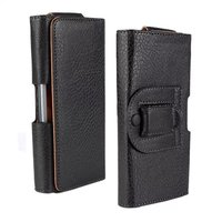 iBest Guangzhou Factory Wholesale Leather Belt Clip Holster Flip Wallet Case for Samsung Galaxy S5 i9600