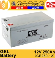 12V 250Ah Solar Electric Power Accumulator Battery Cell