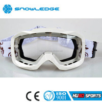 Anti scratch adult tear off dust proof clear lens motorcycle motocross eyewear