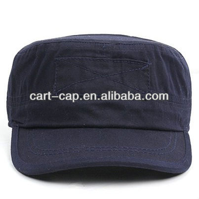 gray color comfortable washed cotton, military style hats for women