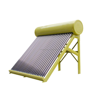Hot Sale 50L~360L High Quality Non-pressurized integrated solar water heater for home, solar geysers