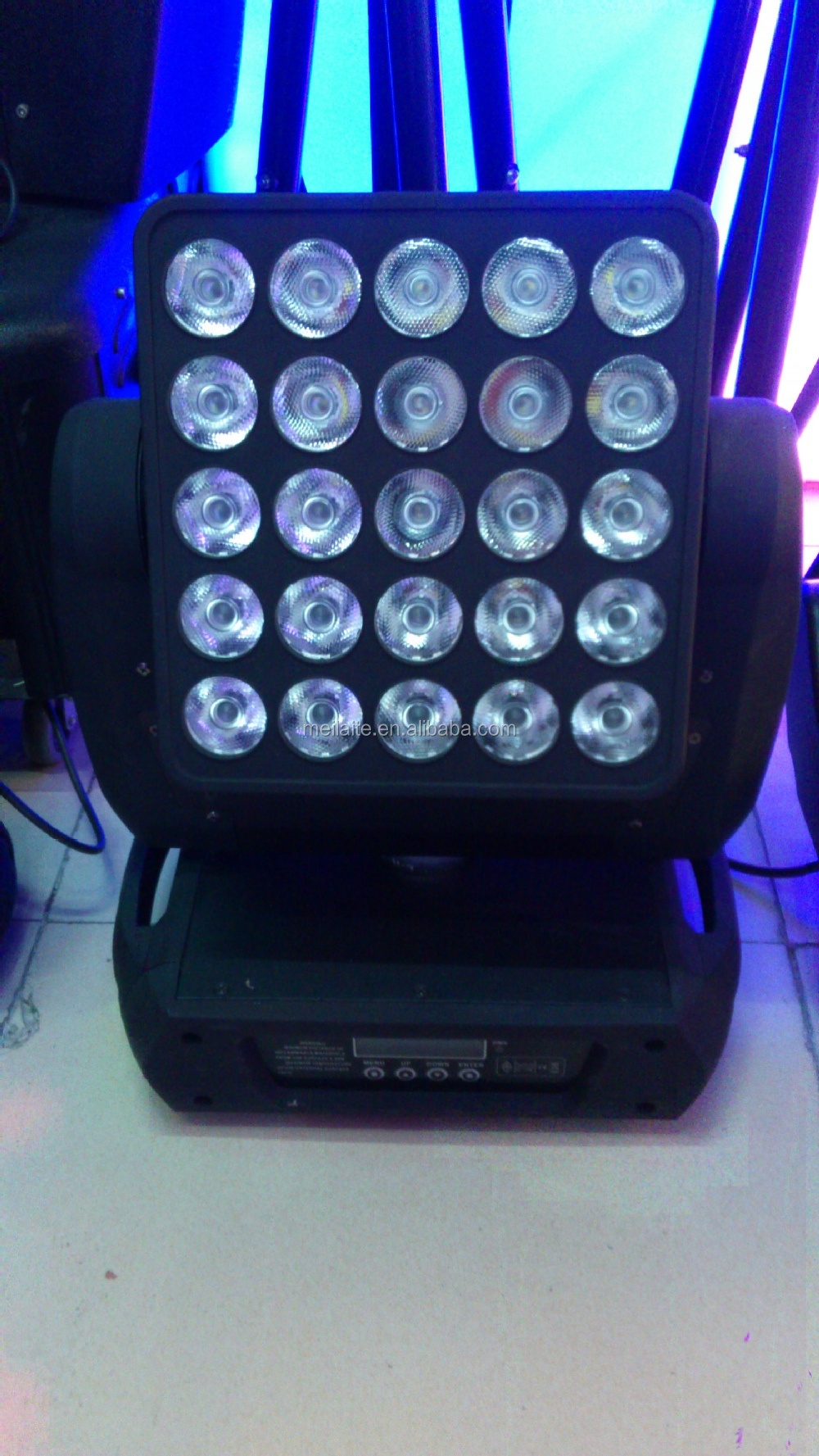RGBW 4in1 5x5 matrix led moving head/25x10w Matrix Moving Head Light