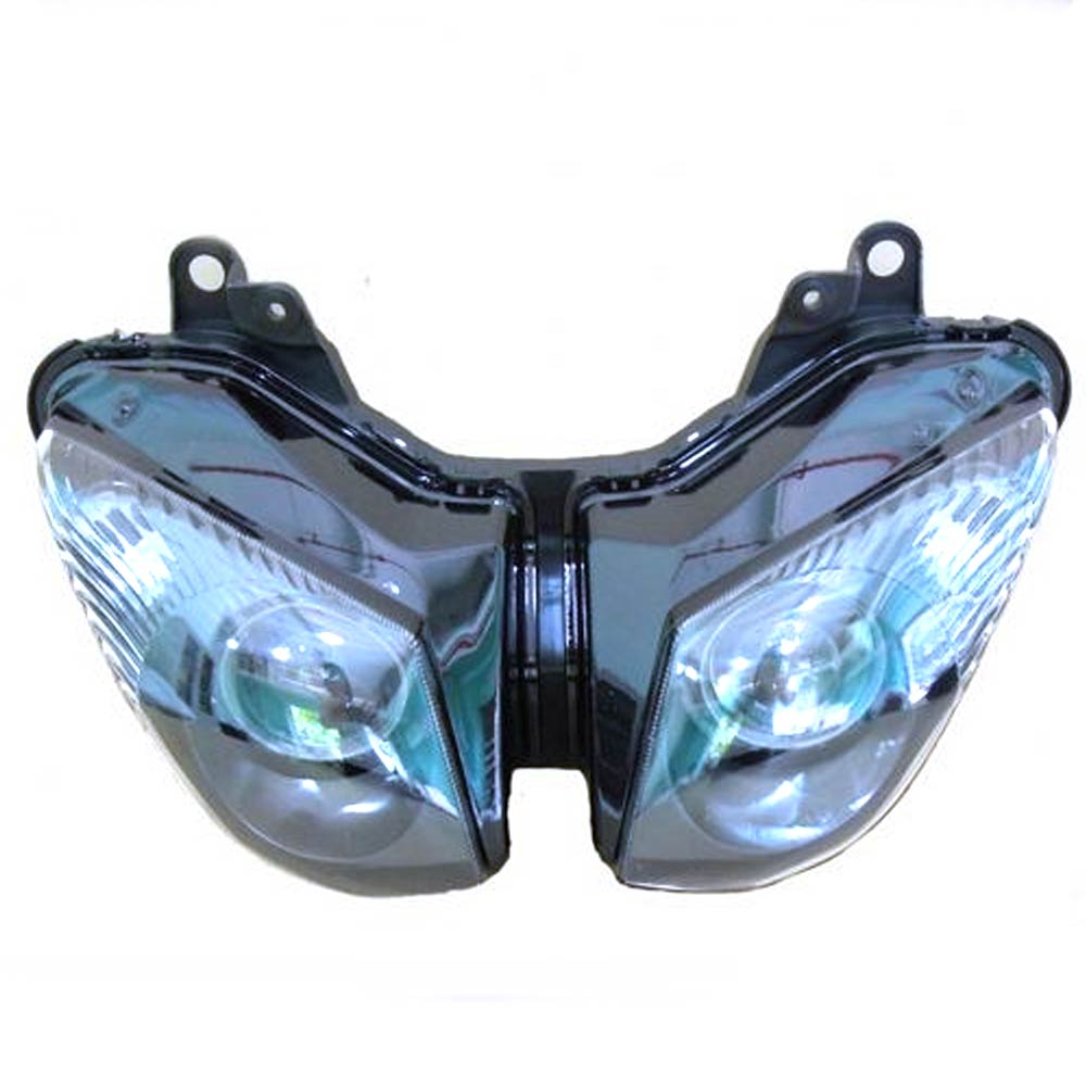 FHLKA005 Headlight For Motorcycle For ZX 6R ZX6R 2009-2012 ZX 10R ZX10R 2008-2010 Clear Lens