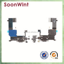 Factory price for iphone 5c charging port charger dock flex cable