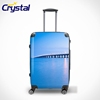 2013 Hot Selling Personalized Suitcase Wheeled Waterproof ABS PC Blue Luggage Sets Airport Carry on Women Kids Backpack