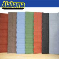 Coluor Diversity zinc coated steel roof tile china building material, cheap roof tiles prices