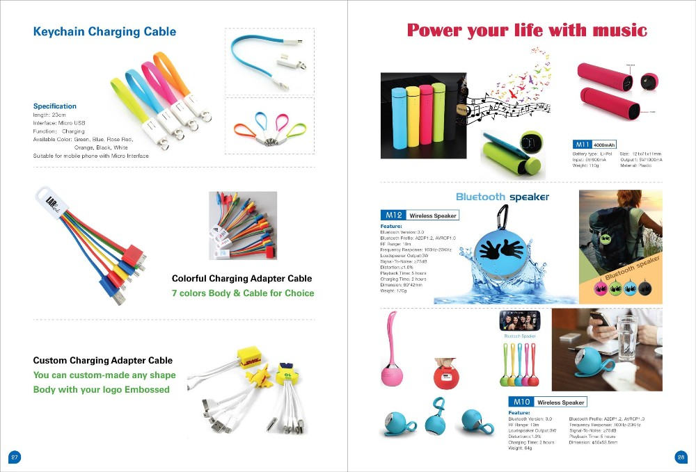 Mobile phone charger keychain 2000mAh power bank, storage box mini portable power bank charger wholesale