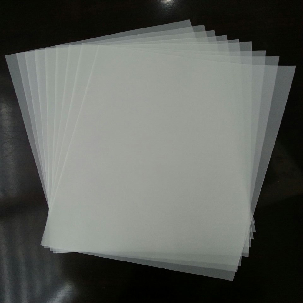 Tracing paper for printer