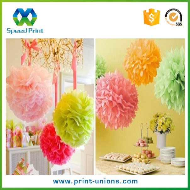 Color custom fresh flower gift wrapping paper waterproof paper wholesale