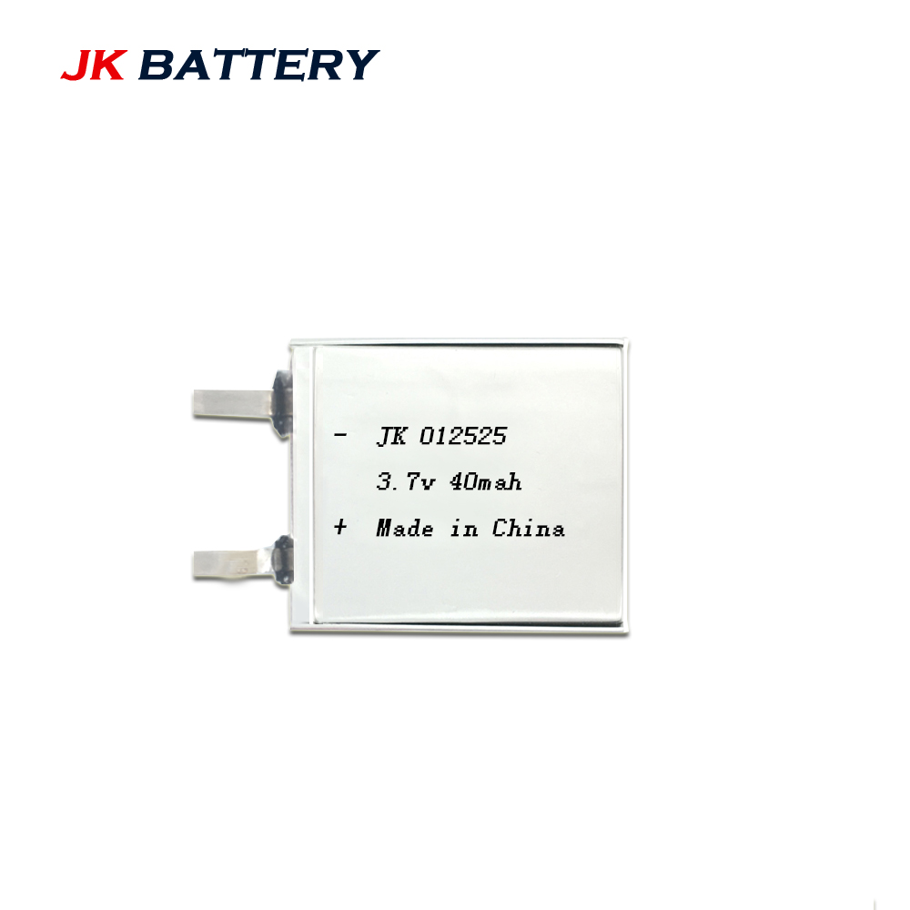 Battery Models Customized, China Supplier 1mm Thickness 3.7 Volt Li-polymer Rechargeable battery / 3.7V 40mAh Lipo battries